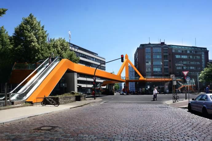 Cremonbrücke: In Orange streichen oder lieber abreißen?