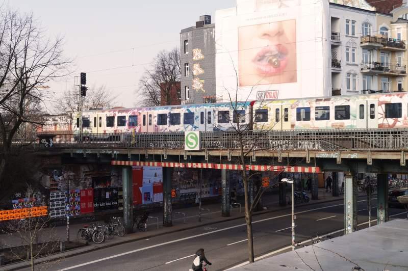 Bahnbrücken Schanzenstraße