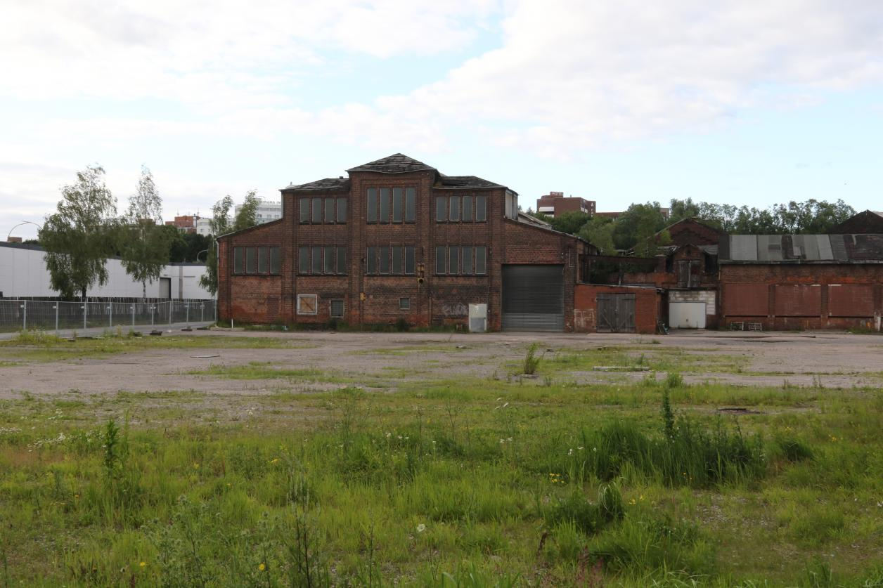 Die Metallfabrik kurz vor ihrem Abriss, Foto: Johann-Christian Kottmeier