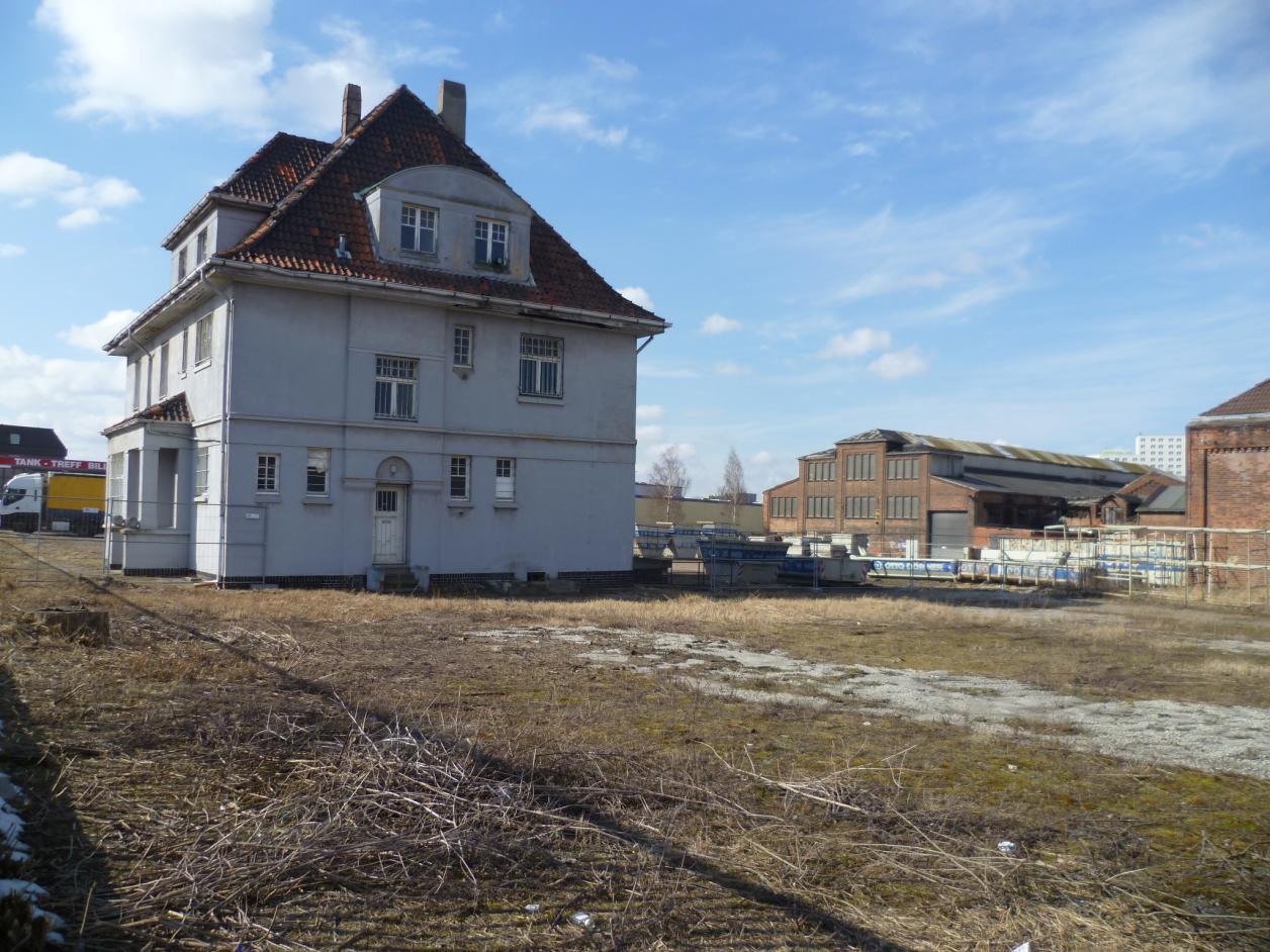 Die Metallfabrik bei einer Besichtigung 2013, Foto: Kristina Sassenscheidt